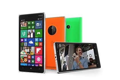 Lumia-telefoons