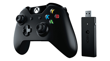 Xbox-controller en draadloze adapter voor Windows