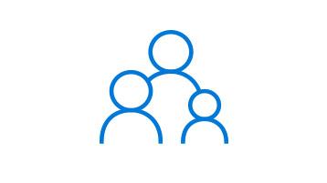 Ouderlijk toezicht-pictogram