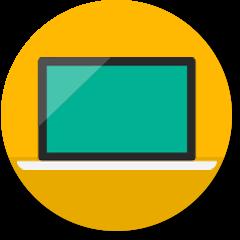 Desktopcomputerpictogram
