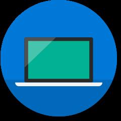 Laptopcomputerpictogram