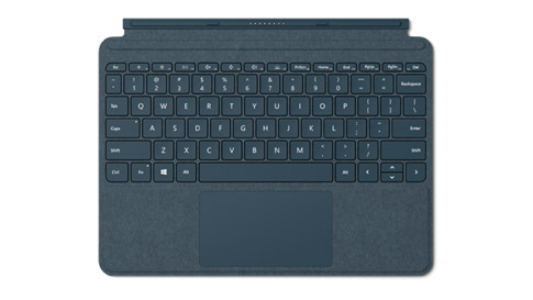 Surface Go Signature Type Cover in Kobaltblauw