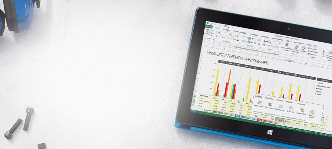 Office 365: zakelijke tools waarop u kunt vertrouwen, overal en altijd.
