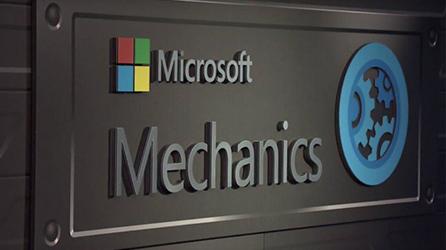 Logo voor Microsoft Mechanics
