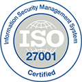 ISO certified logo, learn about the ISO/IEC 27001 certificate