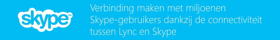 Connectiviteit tussen Lync en Skype