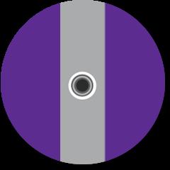 Antwoordpictogram 3,5mm-hoofdtelefoon- aansluiting
