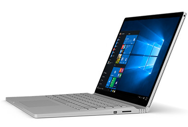 Commercial Microsoft Surface Book