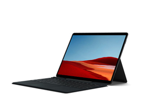 weergave van Surface Pro X