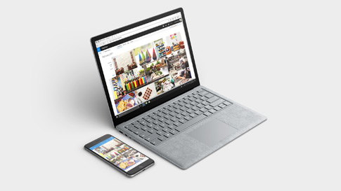 Synchroniseer je telefoon met elk Surface-apparaat