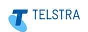 Logo van Telstra