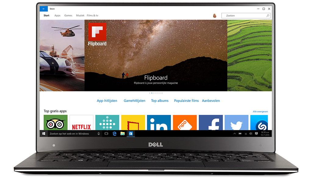 Windows 10 - Dell-laptop