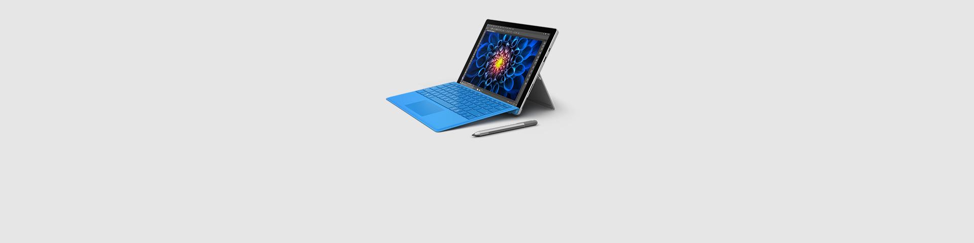En Surface Pro 4-enhet