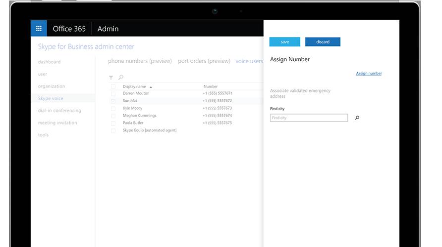 Połączenie w aplikacji Microsoft Teams pokazane na telefonie komórkowym i tablecie