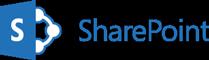 Logo programu SharePoint