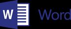 Logo programu Word