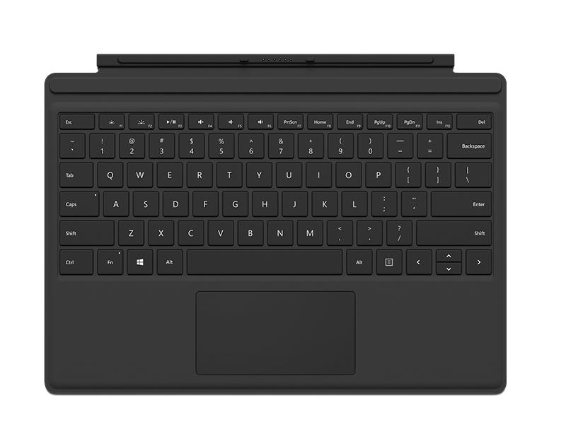 Klawiatura Type Cover do Surface Pro 4