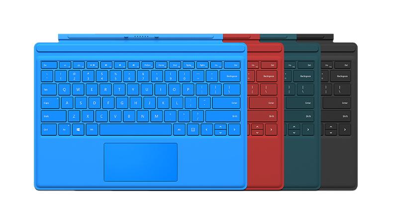 Klawiatura Type Cover urządzenia Surface Pro 4