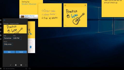 Asystent przyciągania w systemie Windows