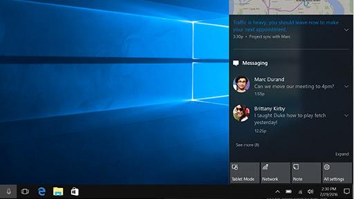 Centrum akcji Microsoft