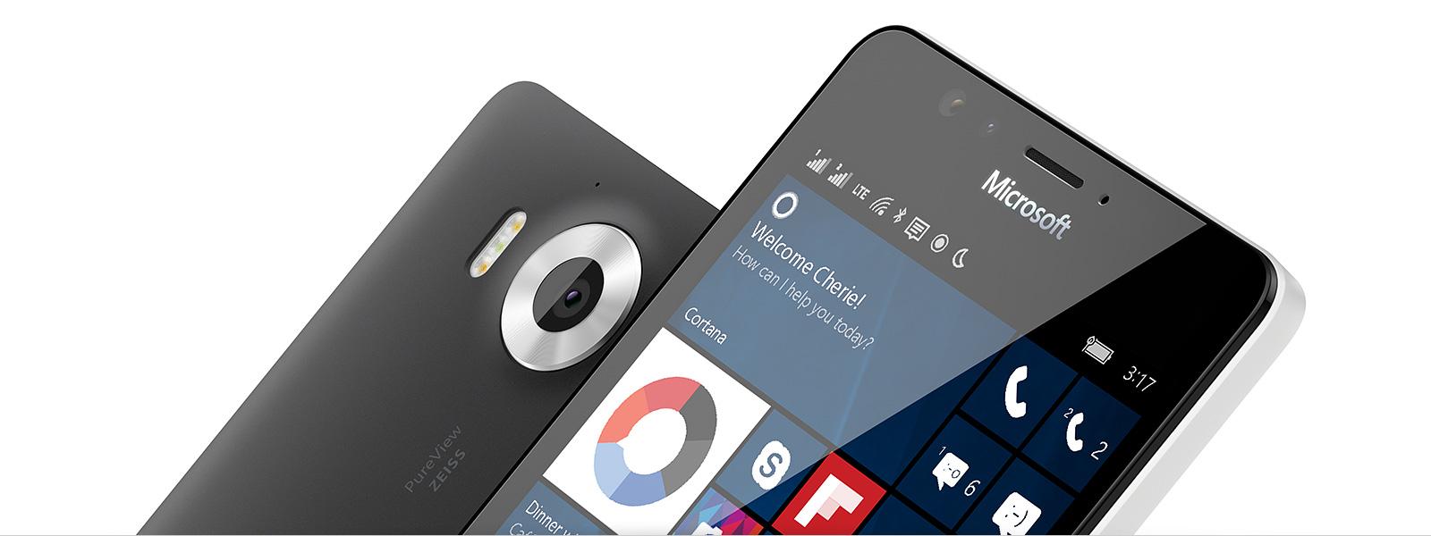 Smartfony zsystemem Windows10 Mobile