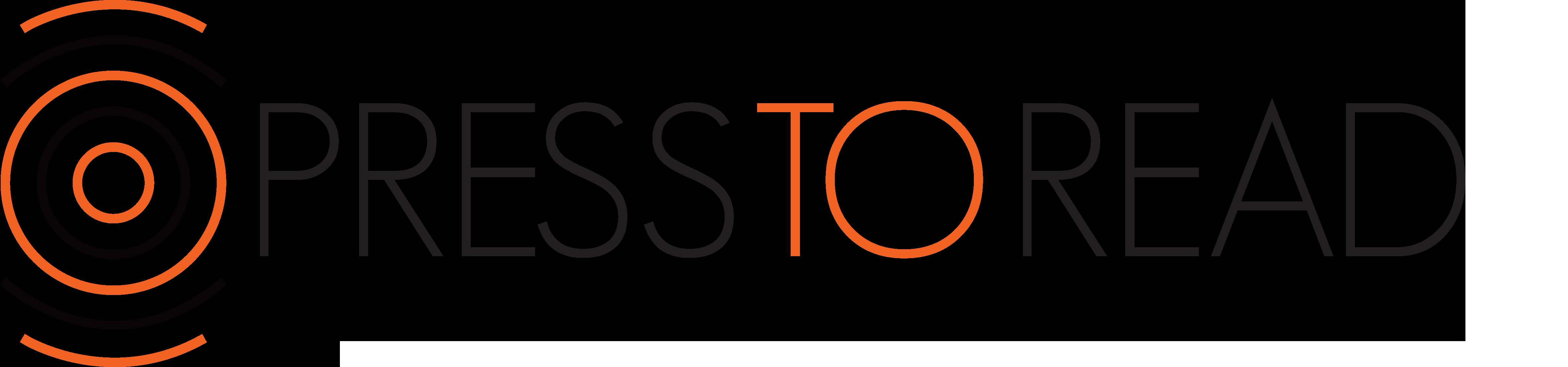 PressToRead logo