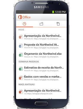 Seu Office móvel
