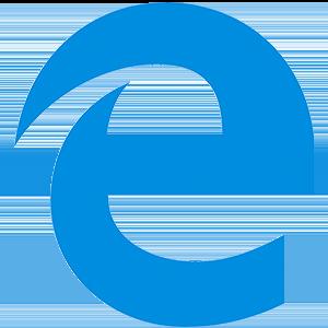 logotipo do edge