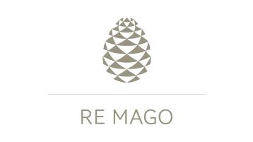 Logotipo de marca da Re Mago
