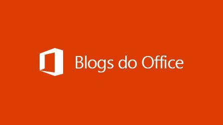 Logotipo dos blogs do Office; leia um artigo sobre Arquivamento de dados de terceiros no Office 365