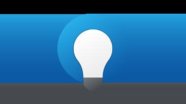 Ilustração de uma lâmpada