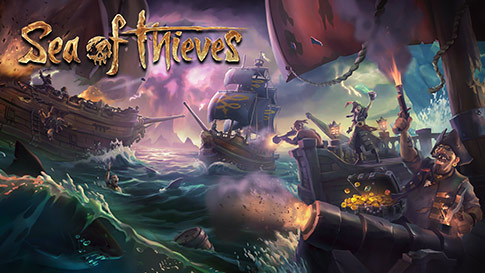 Tela do jogo Sea of Thieves