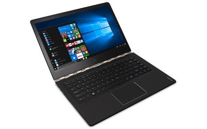Lenovo Yoga 900 em modo notebook