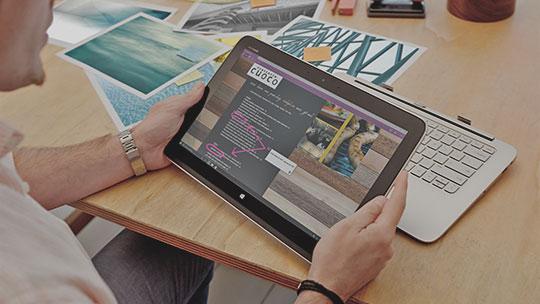 Apresentamos-lhe o Microsoft Edge. Uma nova forma de navegar.