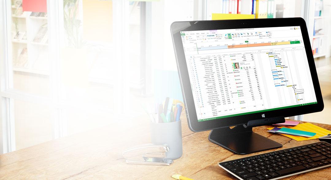 Comprar ou Experimentar o Project Pro para Office 365