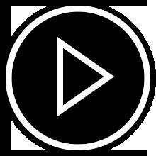 Ícone do botão reproduzir