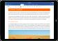 iPad a executar uma aplicação do Office