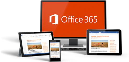 O Office em todos os dispositivos