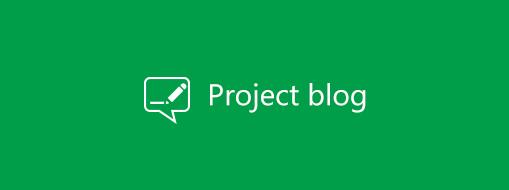 Logótipo do blogue do Project
