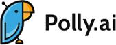 Logótipo da Polly ponto ai