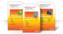 Utilizar o seu Cartão de Chave de Produto do Office 2010
