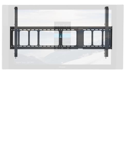 Suporte de montagem em parede para Surface Hub.