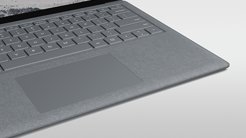 Surface Keyboard com tecido Alcantara.