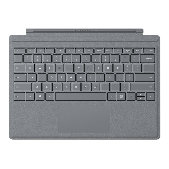 Imagem da Surface Pro Signature Type Cover