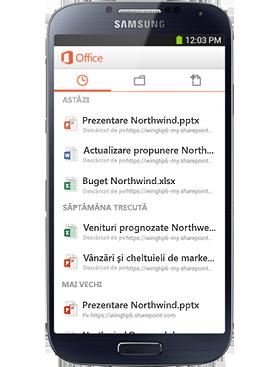 Pachetul dvs. Office mobil