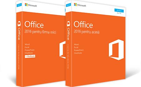 Office 2016 pentru firme mici, Office 2016 pentru acasă