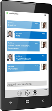 Lync 2013 pentru Windows Phone