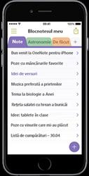 OneNote pentru iPhone