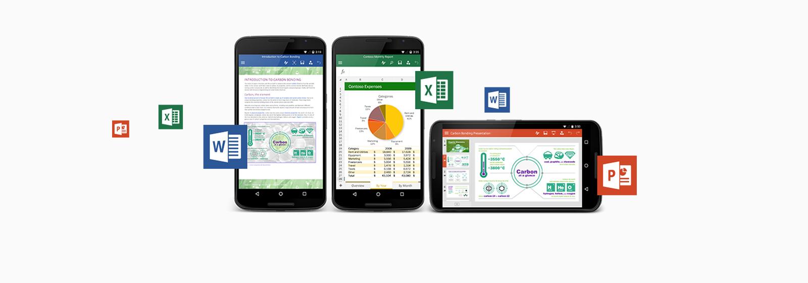 Aflați despre aplicațiile Office gratuite pentru telefonul și tableta dvs. Android.