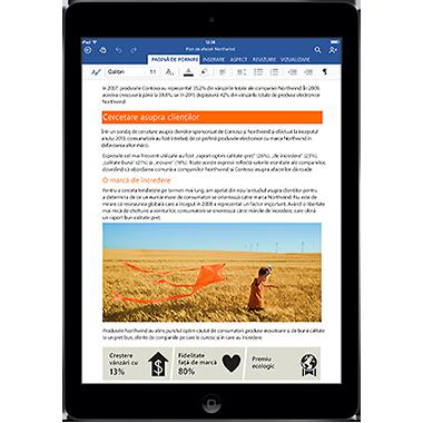 Office pentru iPad